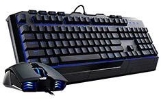 Cooler Master Devastator II Gaming Bundle Blue Backlit
