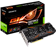 Gigabyte GeForce GTX 1080 G1 Gaming 8GB