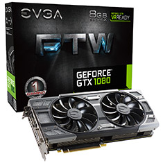 EVGA GeForce GTX 1080 FTW Gaming ACX 3.0 8GB
