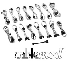 CableMod ModMesh C-Series AXi, HXi & RM Cable Kit White