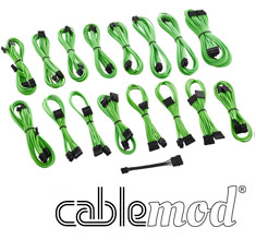 CableMod ModMesh C-Series AXi, HXi & RM Cable Kit Light Green