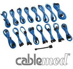 CableMod ModMesh C-Series AXi, HXi & RM Cable Kit Light Blue