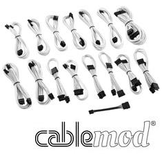 CableMod ModMesh E-Series G2 & P2 Cable Kit White