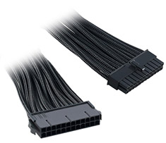CableMod ATX 24-Pin Extension Black 30cm
