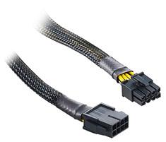 CableMod Single Sleeve 8-Pin EPS Extension Black 30cm