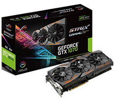ASUS ROG GeForce GTX 1070 Strix Gaming 8GB OC