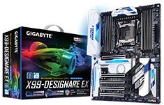 Gigabyte GA-X99-Designare EX Motherboard