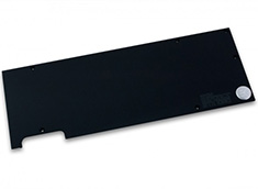 EK Full Cover EK-FC1080 GTX Backplate Black