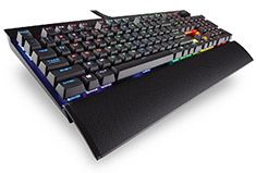 Corsair K70 LUX RGB Mechanical Keyboard Cherry Blue