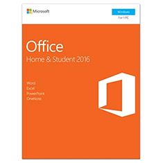 Microsoft Office 2016 Home and Student Retail Pack