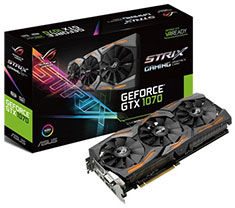 ASUS ROG GeForce GTX 1070 Strix Gaming 8GB