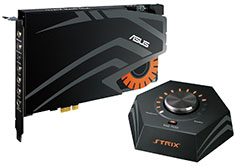 ASUS Strix Raid DLX 7.1 PCI-E Gaming Sound Card