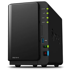 Synology DiskStation DS216+II 2 Bay NAS