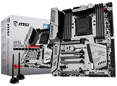 MSI X99A XPOWER Gaming Titanium Motherboard