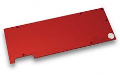 EK Full Cover EK-FC1080 GTX Backplate Red