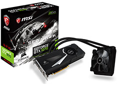 MSI GeForce GTX 1070 Sea Hawk X 8GB
