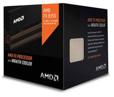 AMD FX-8350 8 Core Black Edition Processor with Wraith cooler