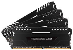 Corsair Vengeance LED CMU64GX4M4C3000C15 64GB (4x16GB) DDR4