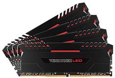 Corsair Vengeance LED CMU64GX4M4C3000C15R 64GB (4x16GB) DDR4