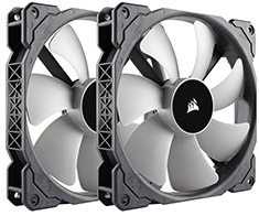 Corsair ML140 140mm Premium Magnetic Levitation Fan Twin Pack