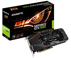 Gigabyte GeForce GTX 1060 Gaming G1 6GB