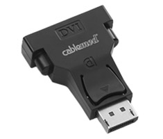 CableMod DisplayPort to DVI-D Adapter Black