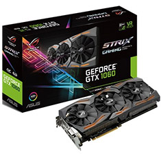 ASUS ROG GeForce GTX 1060 Strix Gaming OC 6GB