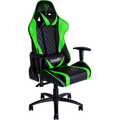 Aerocool Thunder X3 TGC15 Gaming Chair Black Green