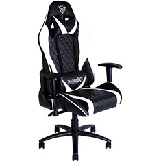 Aerocool ThunderX3 TGC15 Gaming Chair Black White