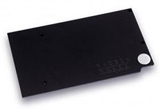EK Full Cover EK-FC RX-480 Backplate Black