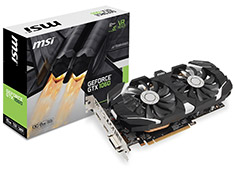 MSI GeForce GTX 1060 OC 6GB