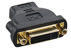 CableMod HDMI to DVI-D Adapter Male to Female Black
