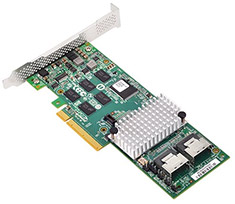 SilverStone ECS01 LSI Mini-SAS RAID Controller Card