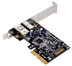 SilverStone ECU03 USB 3.1 PCI-E Controller Card
