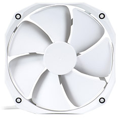 Phanteks 140mm White Premier PWM Cooler Fan V2