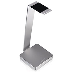 Luxa2 E-One Aluminum Headset Holder Silver