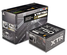 XFX XTR Series Gold 750W Modular Power Supply