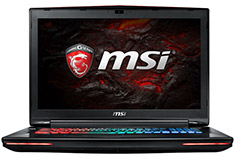 MSI GT72VR Dominator Pro Tobii 17.3in Gaming Notebook [6RE-099A]