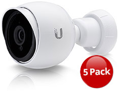 Ubiquiti UniFi G3 HD Video Camera 5 Pack
