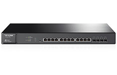 TP-Link JetStream 12-Port Smart Switch with 4 10G SFP+ Slots