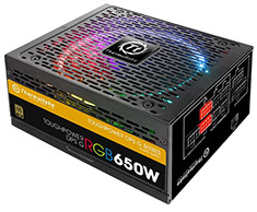 Thermaltake Toughpower DPS G RGB 650W 80 Plus Gold Power Supply