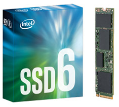 Intel 600P Series 512GB M.2 SSD