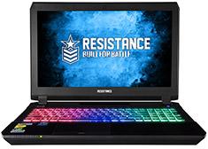 Resistance VR Enforcer GTX 1070 17.3in IPS Gaming Notebook
