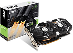 MSI GeForce GTX 1060 OC 3GB