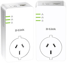 D-Link DHP-P601AV PowerLine AV2 1000 HD Gigabit Passthrough Kit