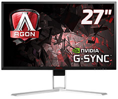 AOC AGON AG271QG QHD 165Hz G-Sync 27in IPS Gaming Monitor