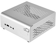 SilverStone VT01S Mini-STX Case Silver