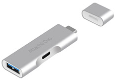 mbeat Attache Duo Type-C To USB 3.1 Adapter With Type-C Port