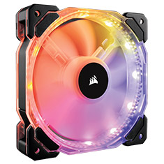 Corsair HD120 RGB LED 120mm PWM Fan with Controller