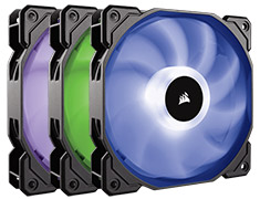 Corsair SP120 RGB LED 120mm Fans 3 pack with Controller